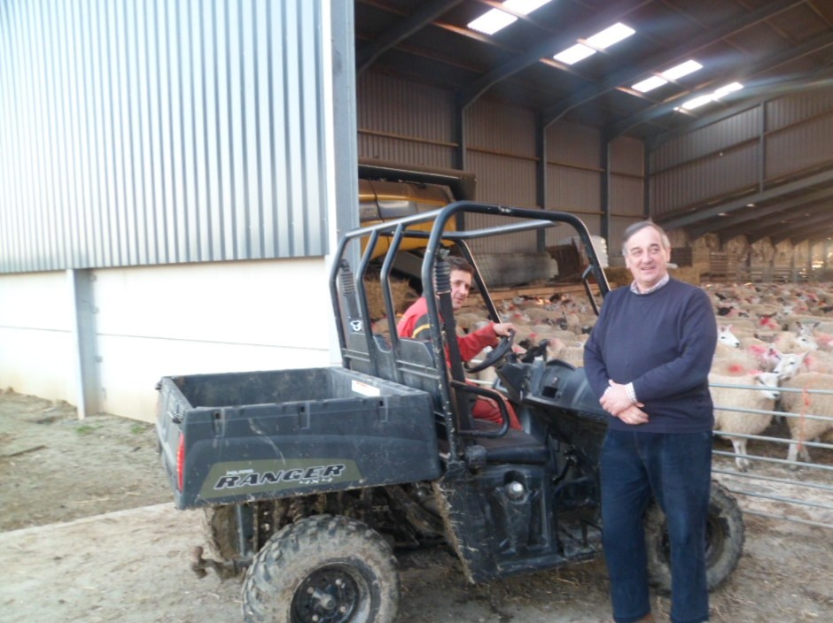 Polaris Delivers For Nfu President