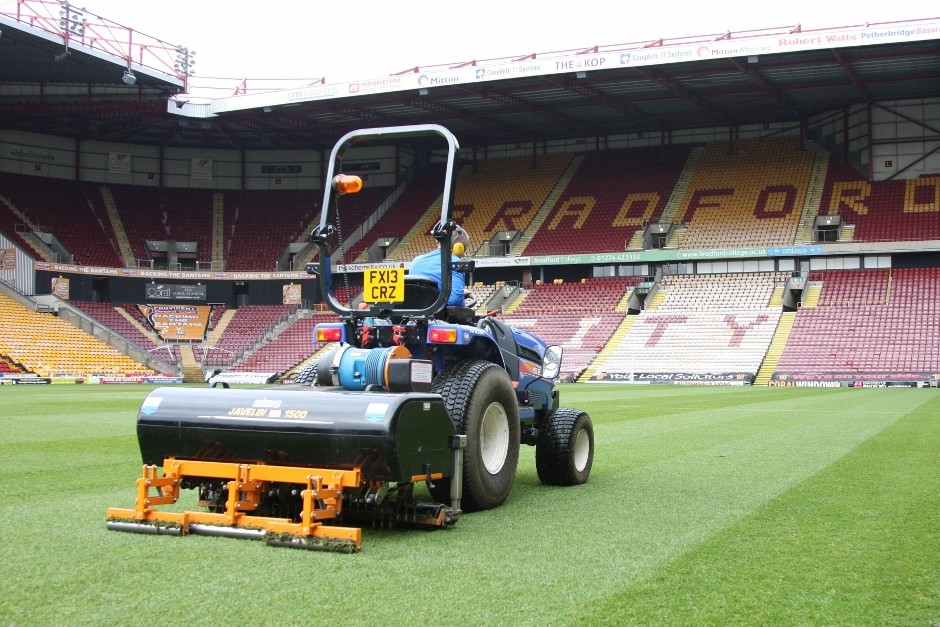 Sisis Aer-Aid Brings Pitch Improvements To Bradford City