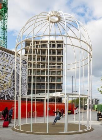 Sutcliffe Play Swing Helps Deliver Fun To London Art Installation