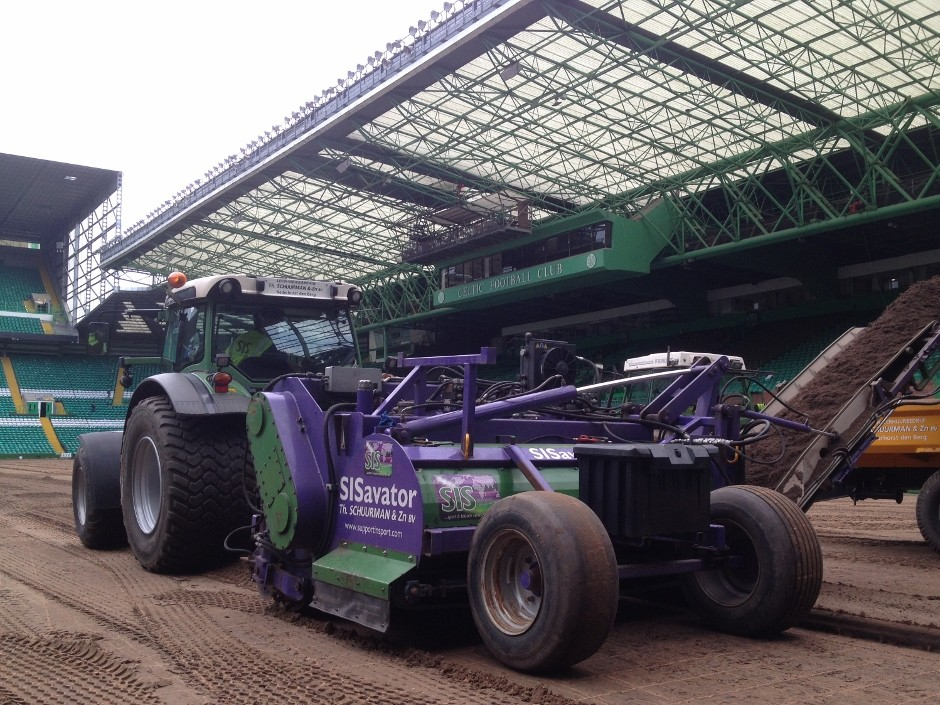 Sis Transforms The Turf At Celtic Park