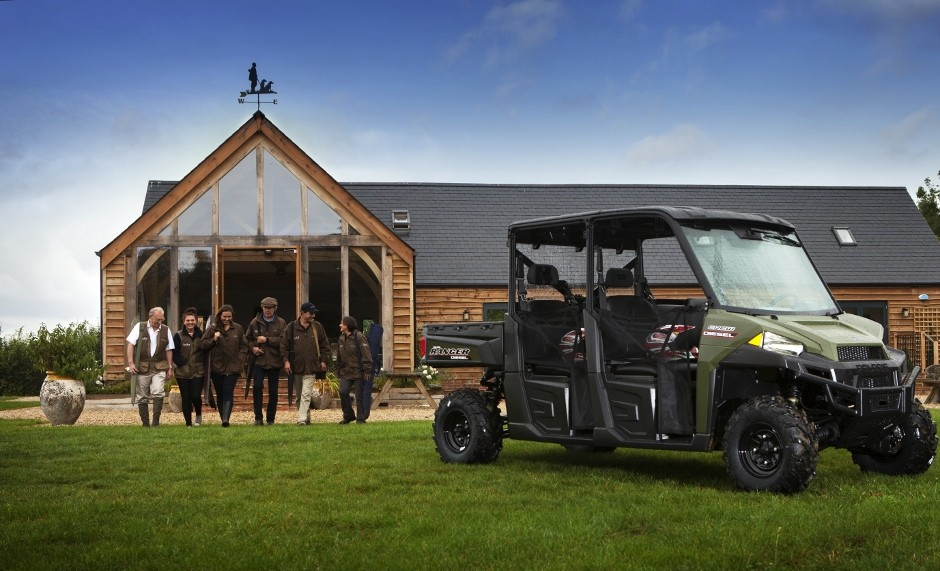 New Polaris Ranger Diesels With Handsome Cab
