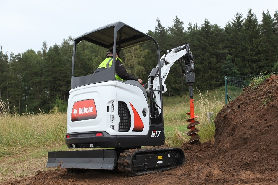 New Generation Bobcat 1-2 Tonne Compact Excavators