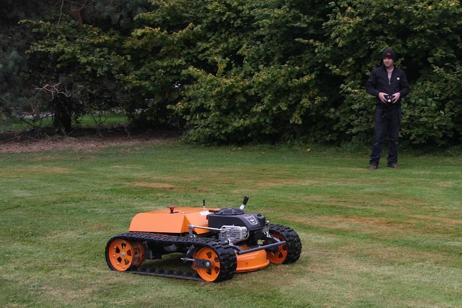 Stm Mini Robot Mower Wins Hearts