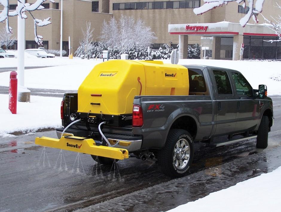 The Snowex Liquid De-Icing System