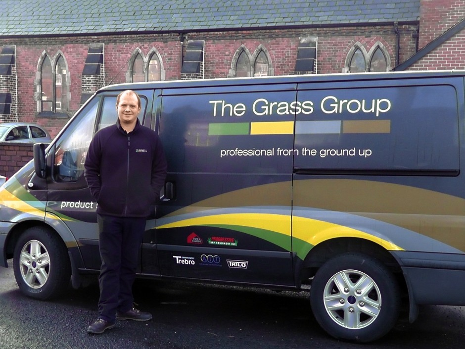 All Change For Steven Satchwell As He Joins The Grass Group