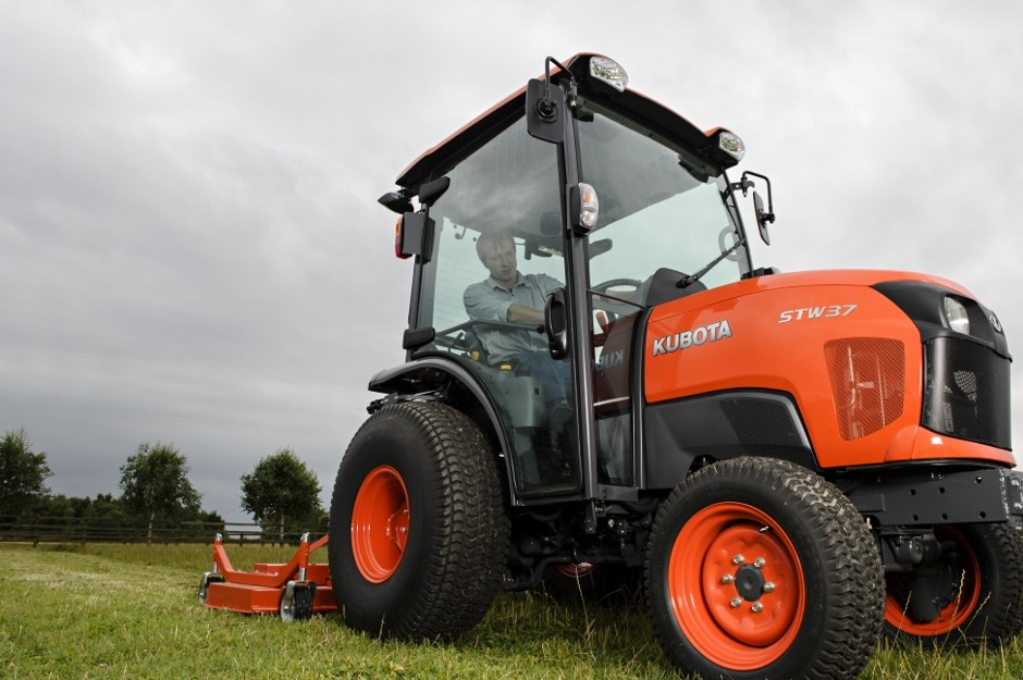 Step Up For Compact Tractors With The Kubota Stw Series