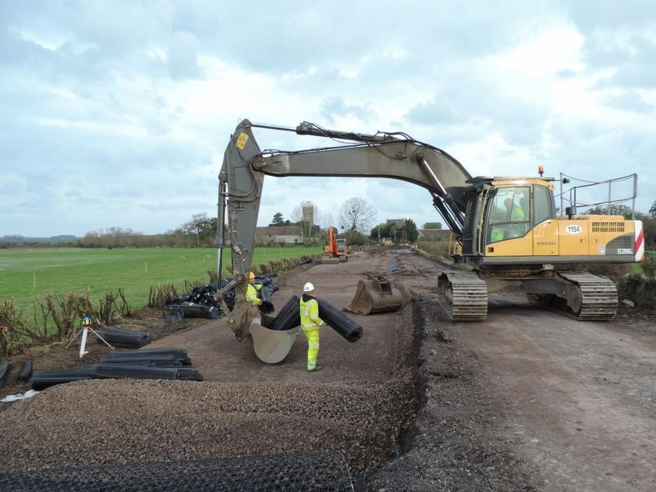 Tensar Systems To Provide Somerset Flooding Lifeline