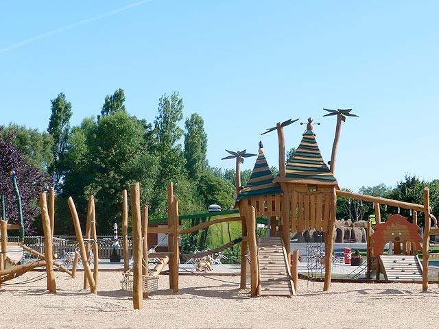 Blackpool Zoo Opens New 'Orang-U-Tangle' Play Area