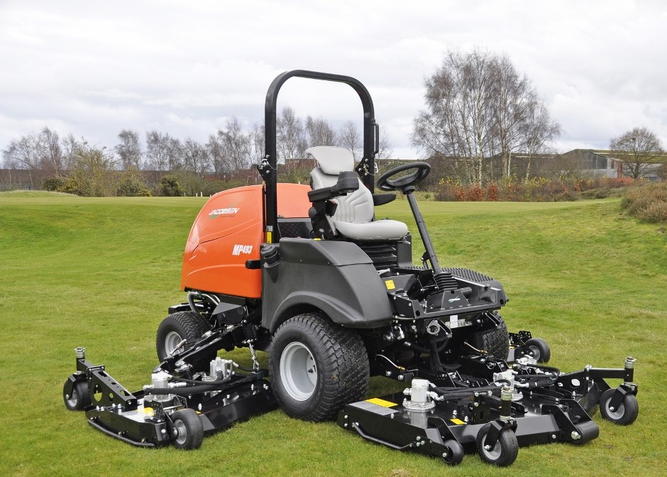 New Jacobsen Mp Series Batwing Rotary Mower