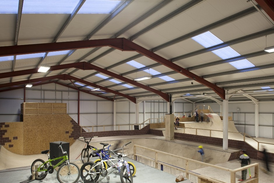 Steadmans Gets Its Skates On To Help New Indoor Facility