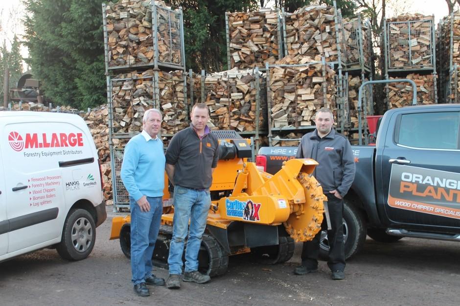 Orange Plant Takes Carlton Stump Grinders To Northern Ireland & Roi