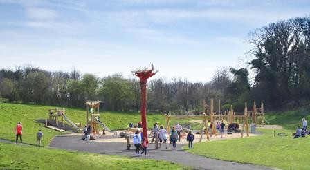Lots Of Fun At Cuthill Park Timber Park Installed By Jupiter Play