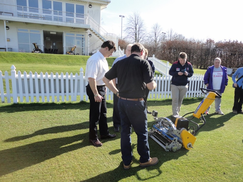The Grass Group Make Solo Debut At Ecb Sponsored Event