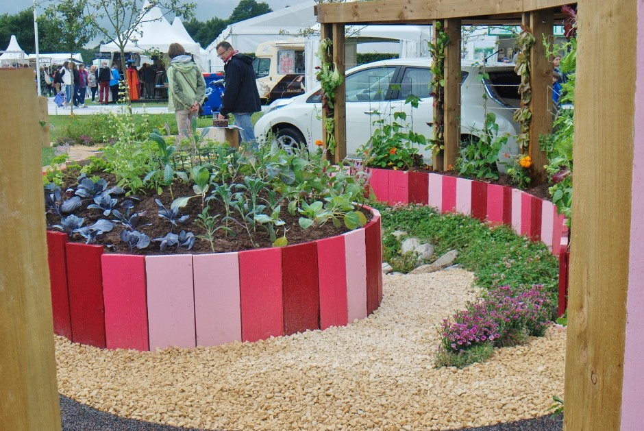 Show Garden Makes Lasting Impression With Help From Long Rake Spar
