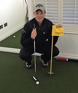 Danny Willett Chooses Huxley Golf For Practice At Home