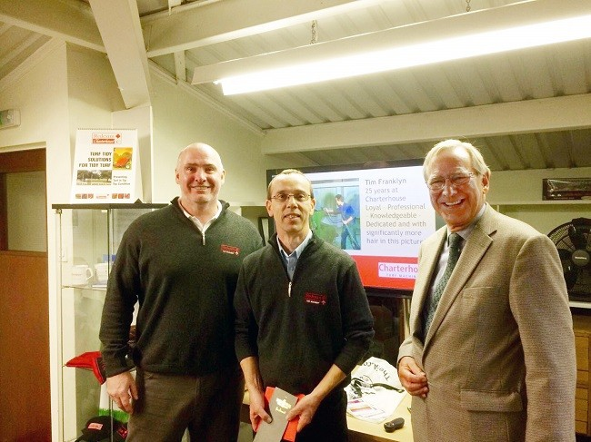 Second Employee To Notch Up 25 Years At Charterhouse Turf Machinery