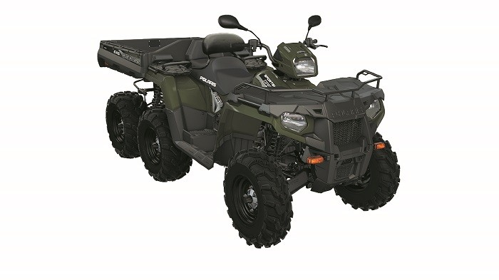 Polaris Unveils The New 6X6 Boss