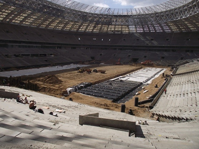 Sis Pitches Install Revolutionary Pitch At 2018 World Cup Final Venue
