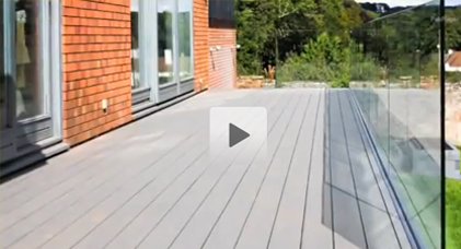 Timbertech Garden Decking In Michaelston, Cardiff